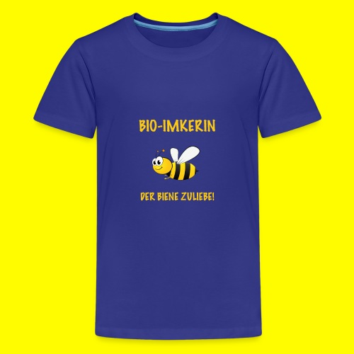 Bio Imkerin - Teenager Premium T-Shirt