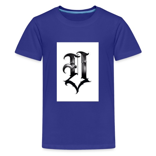 v logo - Teenage Premium T-Shirt