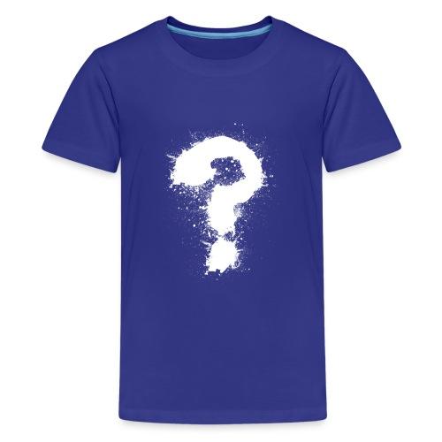 Fragezeichen - Teenager Premium T-Shirt