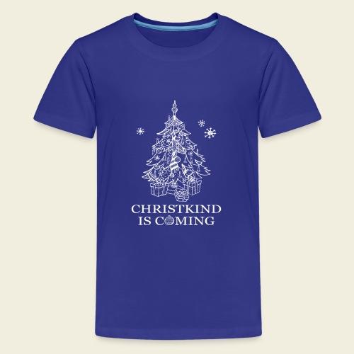 Christkind neu weiss - Teenager Premium T-Shirt