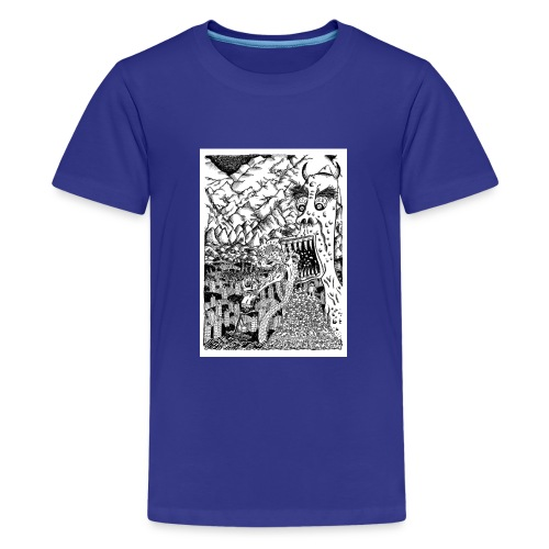 Sea Monsters T-Shirt by Backhouse - Teenage Premium T-Shirt
