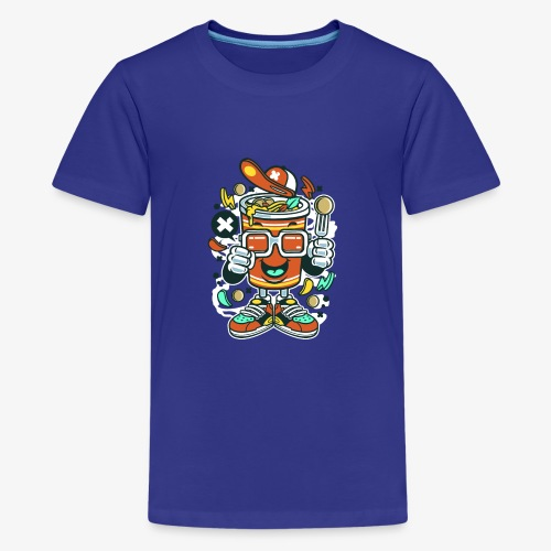 Coupe de nouilles - T-shirt Premium Ado