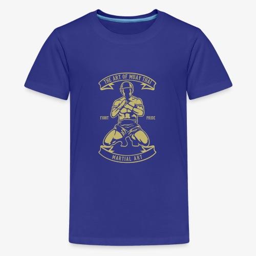 Art du muay thai - T-shirt Premium Ado