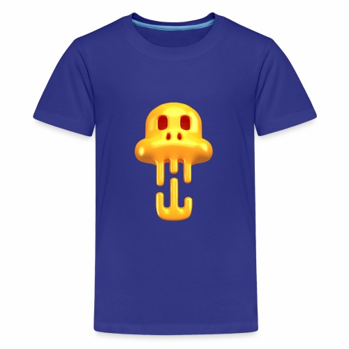 Skull Head - T-shirt Premium Ado