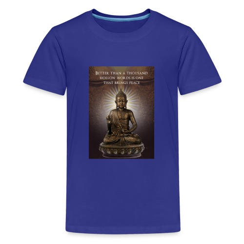 Buddha Wisdom - Teenage Premium T-Shirt