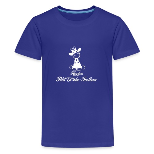 Hayden petit globe trotteur - T-shirt Premium Ado