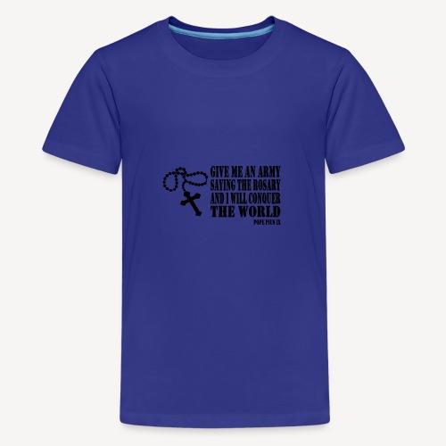 ROSARY - Teenage Premium T-Shirt