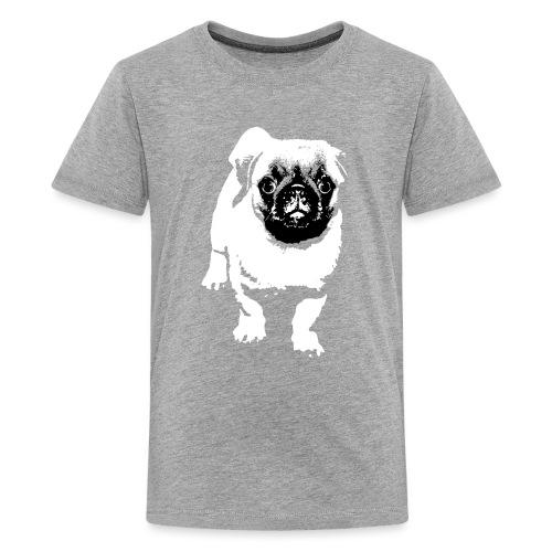 Mops Hund Hunde Möpse Geschenk - Teenager Premium T-Shirt