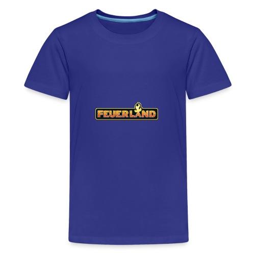 shirt feuerland logo - Teenager Premium T-Shirt