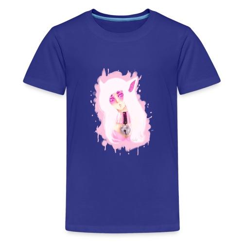Purple copy png - Teinien premium t-paita