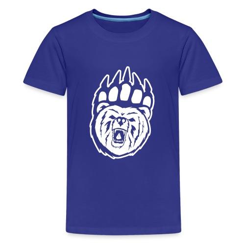 Dam T-shirt Svart/Rosa - Premium-T-shirt tonåring