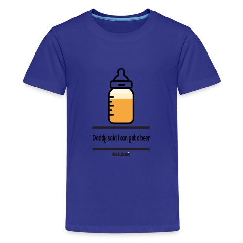 Bilabì Beer Biberon - Maglietta Premium per ragazzi