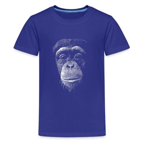 Scimpanzè - Maglietta Premium per ragazzi
