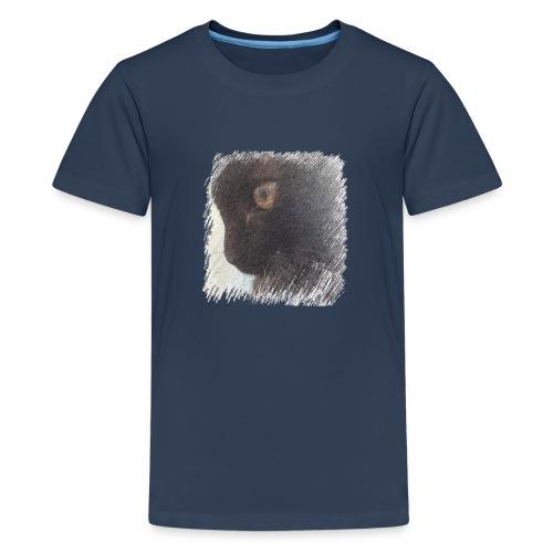 chat - T-shirt Premium Ado