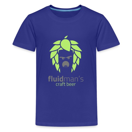 Fluidmans Craft Beer Logo - Teenager Premium T-Shirt