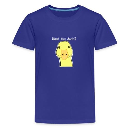 Duck you - Teinien premium t-paita