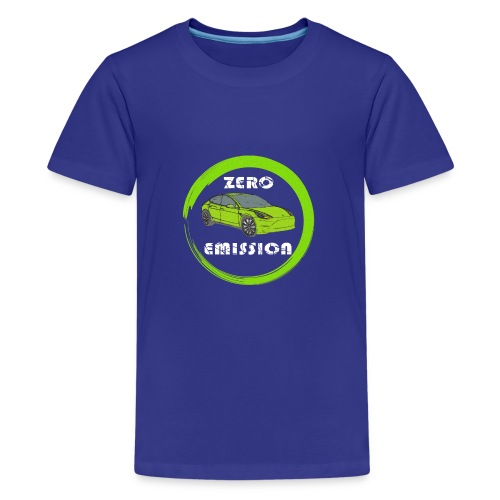 Elektroauto Elektromobilität E-Auto - Teenager Premium T-Shirt