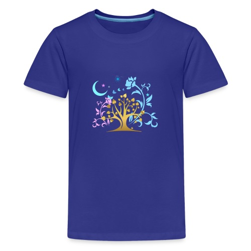 Mystic Tree - Teenager Premium T-Shirt