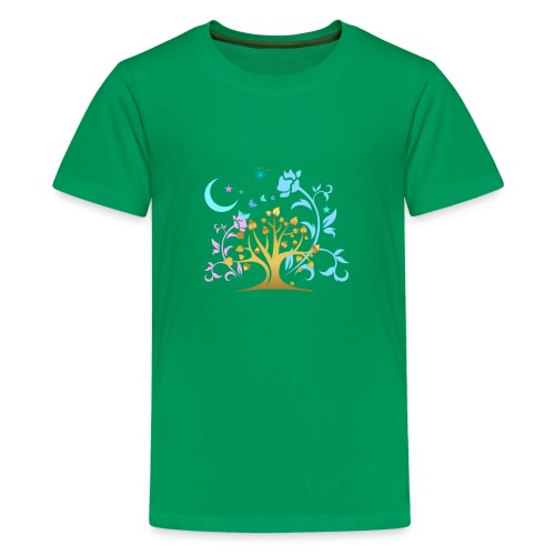 Mystic Tree - Teenager Premium T-Shirt
