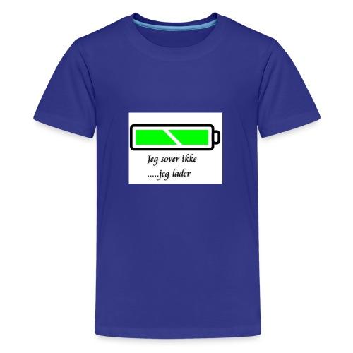 lader_2 - Premium T-skjorte for tenåringer