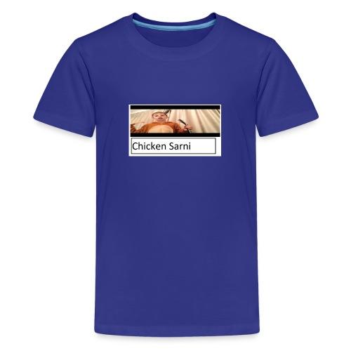 chicken sarni - Teenage Premium T-Shirt