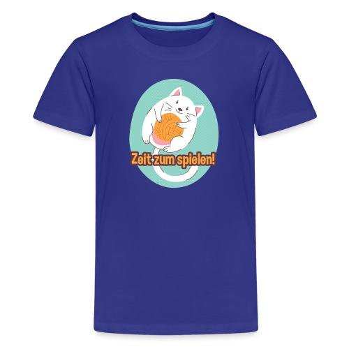 Zeit zum spielen - Teenager Premium T-Shirt