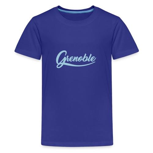 grenoble, old school - T-shirt Premium Ado
