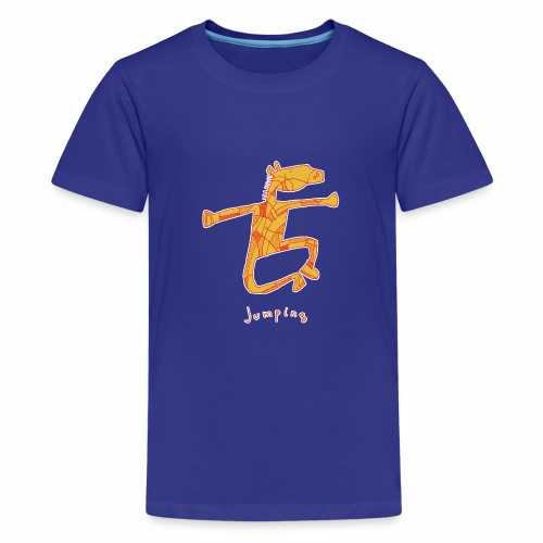 Jumping Horse - Teenager Premium T-shirt