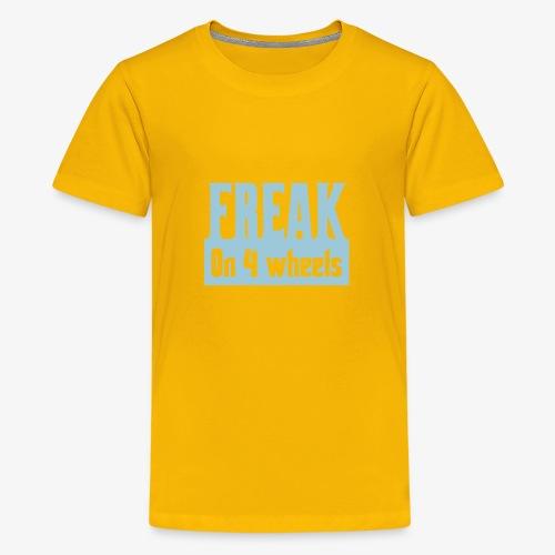 Gek op vier rolstoel wielen - Teenager Premium T-shirt