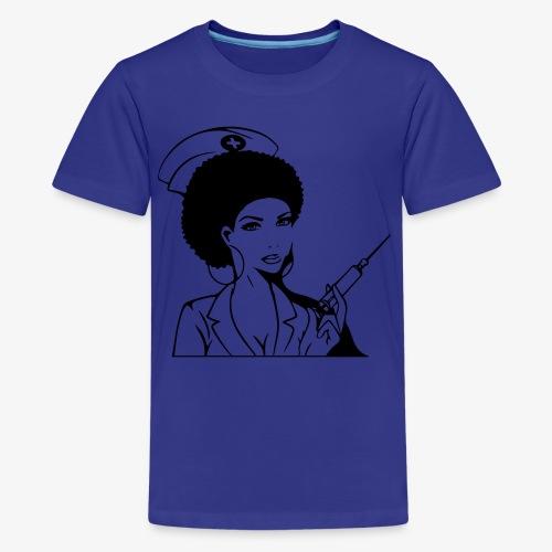 Nurse - Teinien premium t-paita