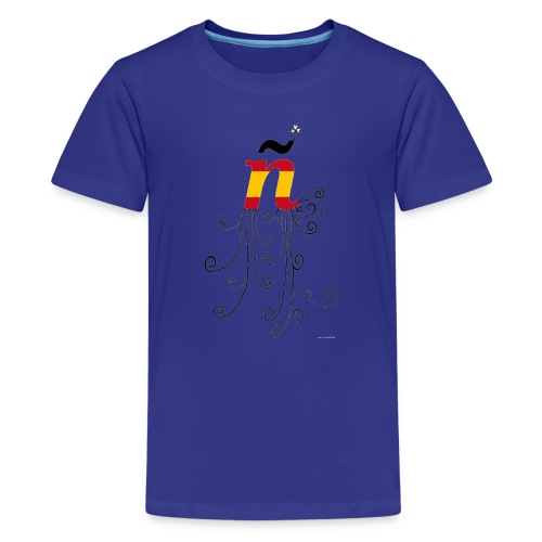eÑe - Camiseta premium adolescente