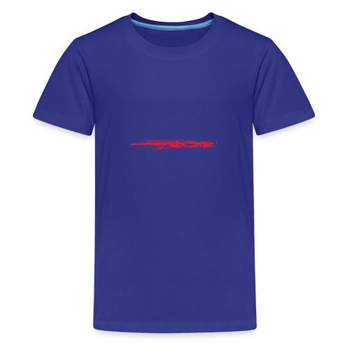 Linie_02 - Teenager Premium T-Shirt