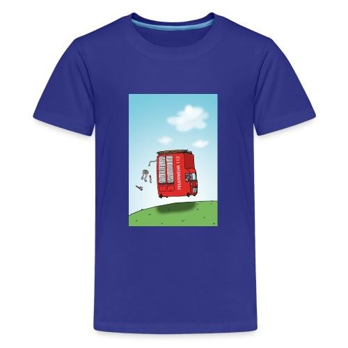 Feuerwehrwagen - Teenager Premium T-Shirt