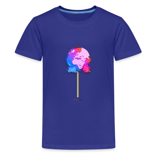TShirt lollipop world - T-shirt Premium Ado