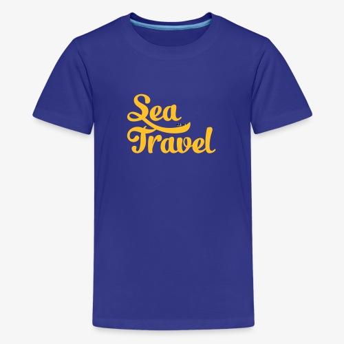 sea travel - T-shirt Premium Ado