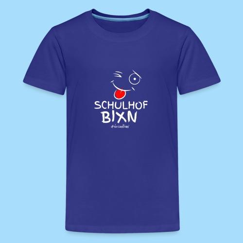 Schulhofbixn - Teenager Premium T-Shirt