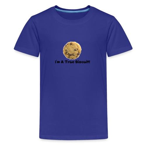 True Biscuit - Teenage Premium T-Shirt