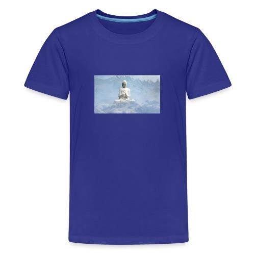 Buddha with the sky 3154857 - Teenage Premium T-Shirt