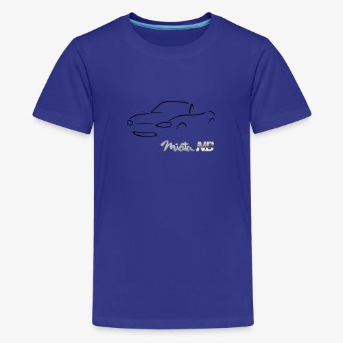 miata NB noire - T-shirt Premium Ado