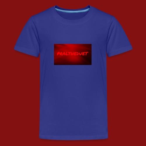 My Post 6 - Premium-T-shirt tonåring