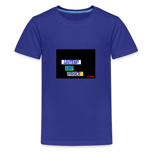 Leuchtend und frisch - Teenager Premium T-Shirt