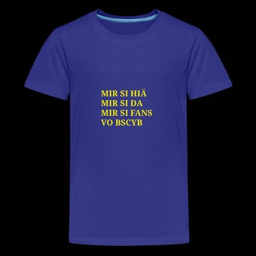 BSCYB - Teenager Premium T-Shirt