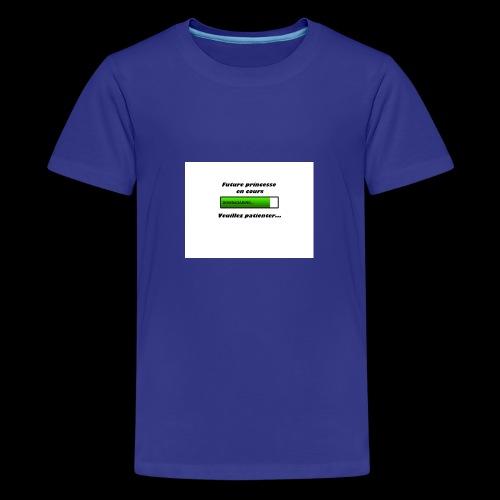 Future princesse - T-shirt Premium Ado