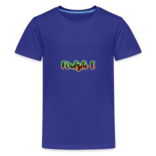 F0utsite E (HALLOWEEN Edition) - Premium-T-shirt tonåring