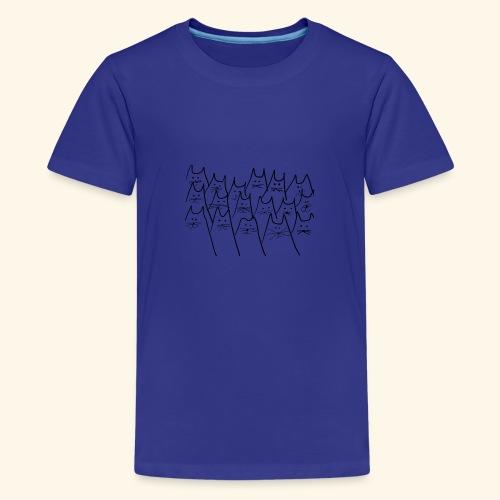 caaats - Teenager Premium T-Shirt