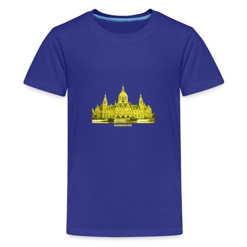 Hannover Rathaus Niedersachsen - Teenager Premium T-Shirt