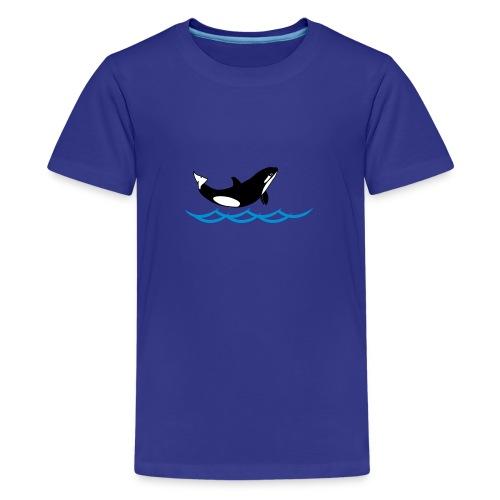Lil' Orka_kids - Teenager Premium T-Shirt