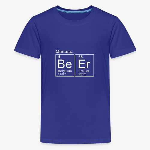 Beer Periodic Table of Elements - Teenager Premium T-Shirt