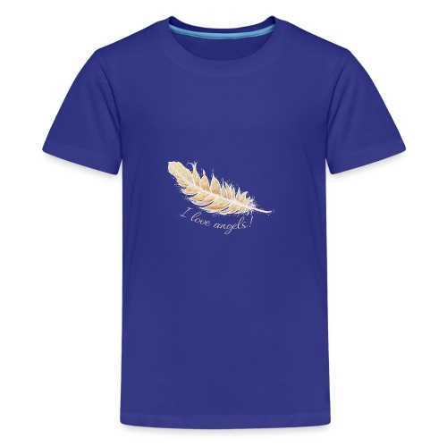 EngelFeder Love - Teenager Premium T-Shirt