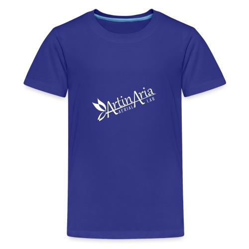 Artinaria Aerial Lab - Maglietta Premium per ragazzi